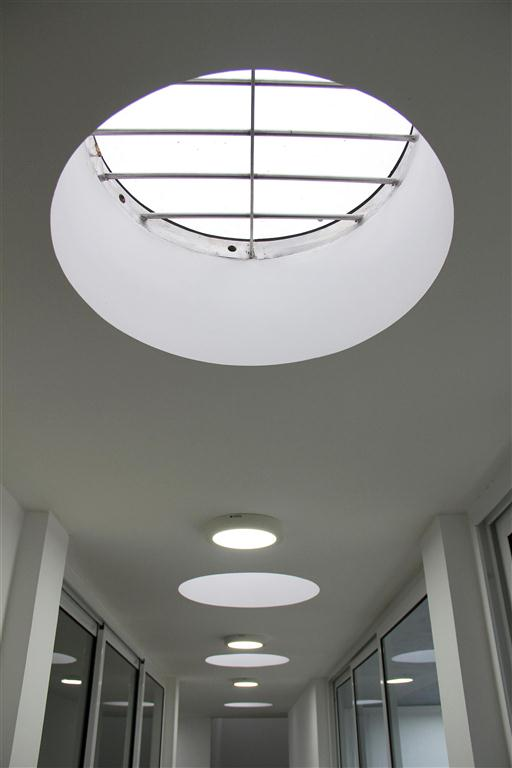 91g skylights in the upstair passage