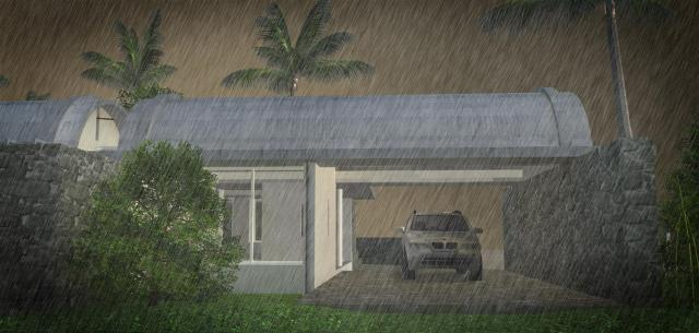 09 with rain